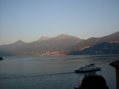 Bellano from the hostel