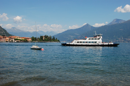One of the regular ferries